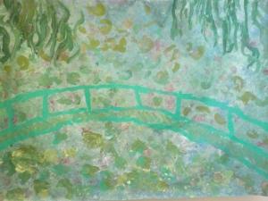Bild mit Brücke