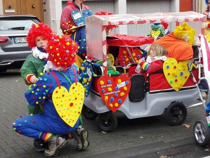 Karnevalszug Köln Sonntag